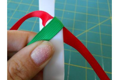"1"" Christmas Stripe Headband!"