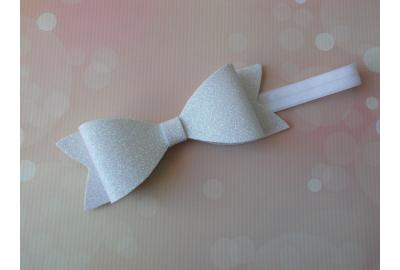Craft Foam Glitter Bow Headband