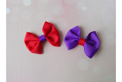Big Ribbon, Little Bow-Tie Tutorial!