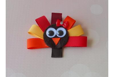 Ribbon Turkey Clip