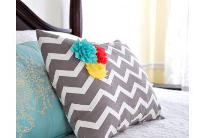 Flowers-Pillow-Side