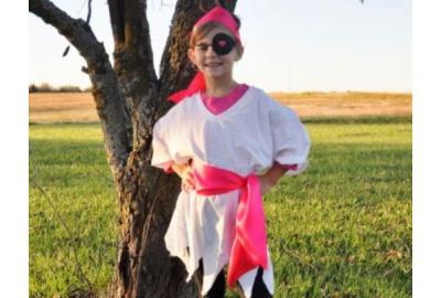 Satin Ribbon Pirate Costume