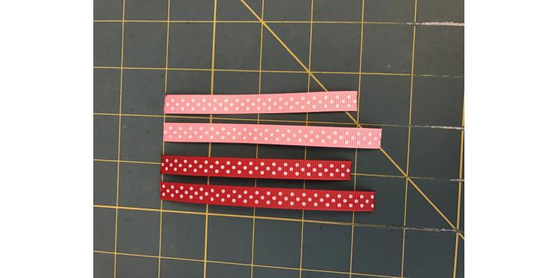 Valentine's Day Ribbon Heart
