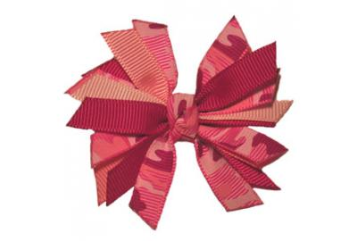 Spiky Hair-Bow Instructions