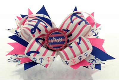 Anchors Away Hairbow