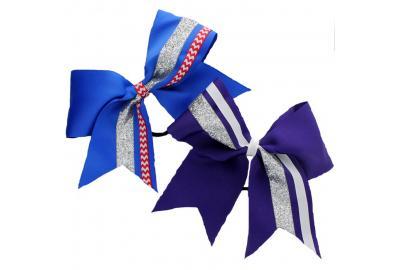 Easy DIY Cheer Bow