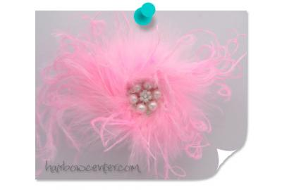 Marabou Poof - Valentine's Day Flair
