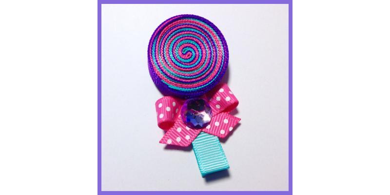 Adorable Lollipop Hair Clip!