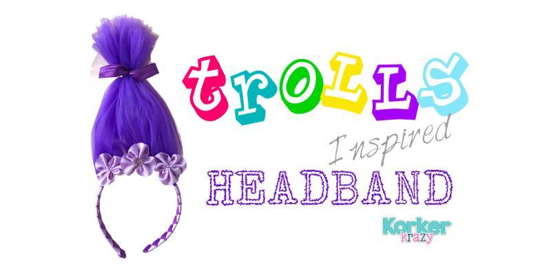 DIY Troll Headband