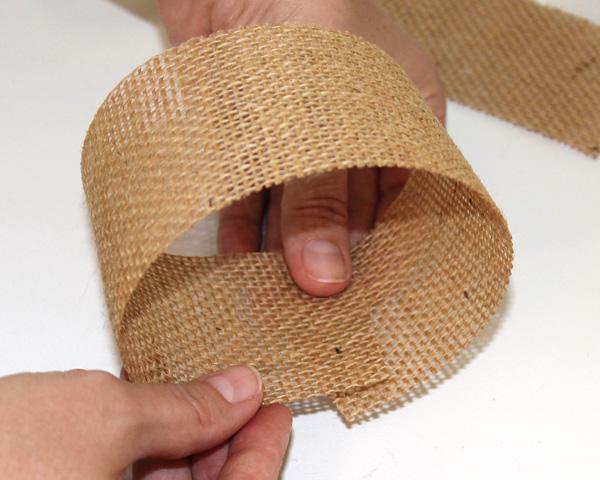 Burlap Hair-Bow Make Loop
