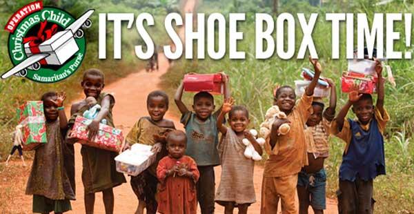 Shoe Box Time!