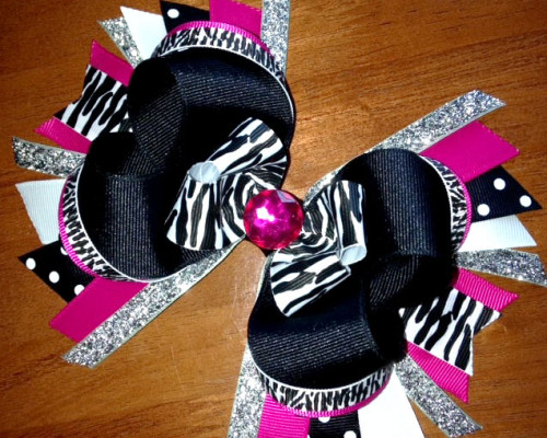 zebra-glamour-hairbow