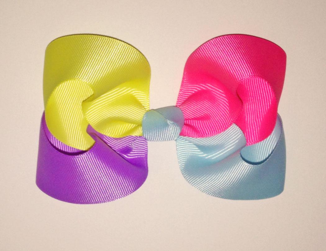 4-Color-Hair-Bow