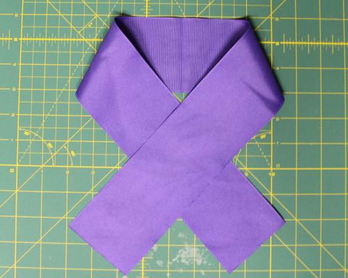 folding ribbon