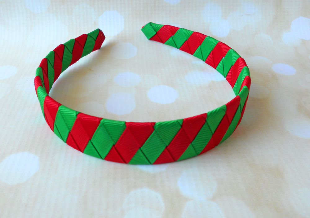 christmas-woven-ribbon-headband
