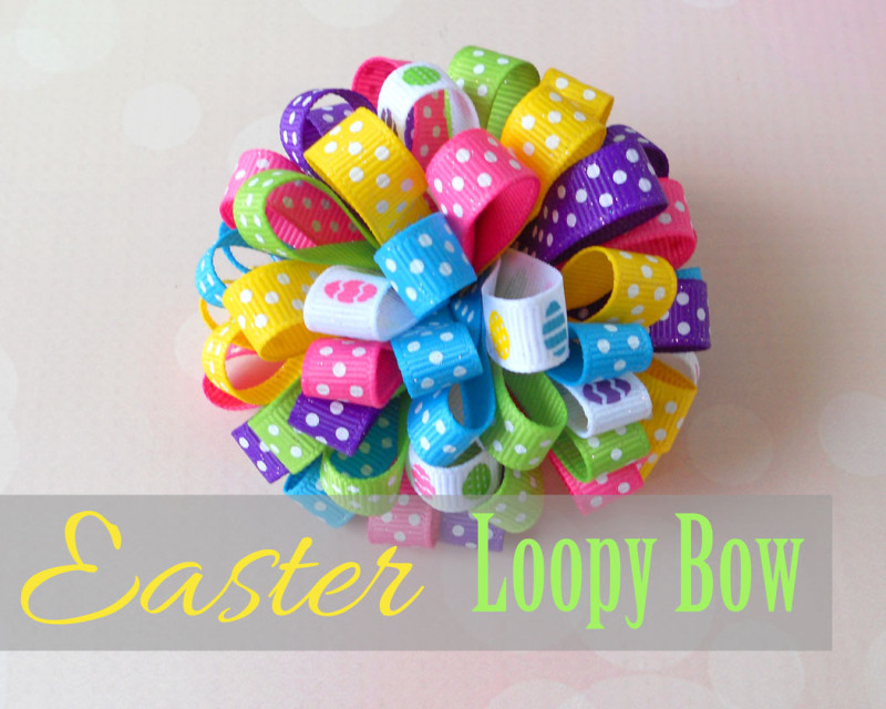 Easter-Loopy-Bow Instructions