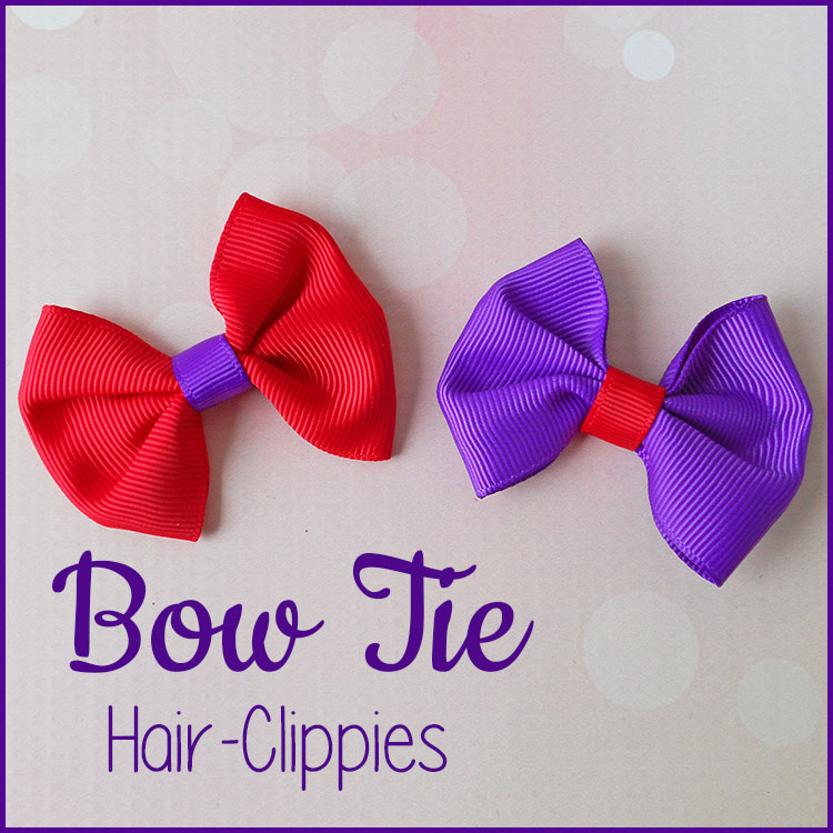 Easy Bow Tie Tutorial
