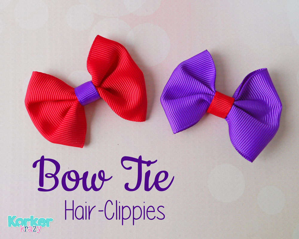 Learn how to make your own bow-ties!