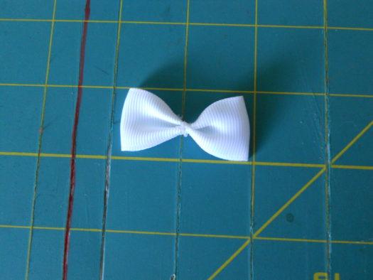 Candy Corn Hair-Bow DSCN5769