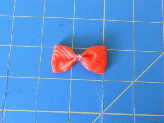 Candy Corn Hair-Bow DSCN5770