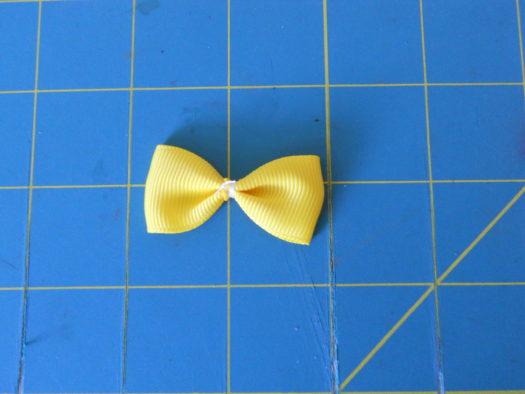 Candy Corn Hair-Bow DSCN5771