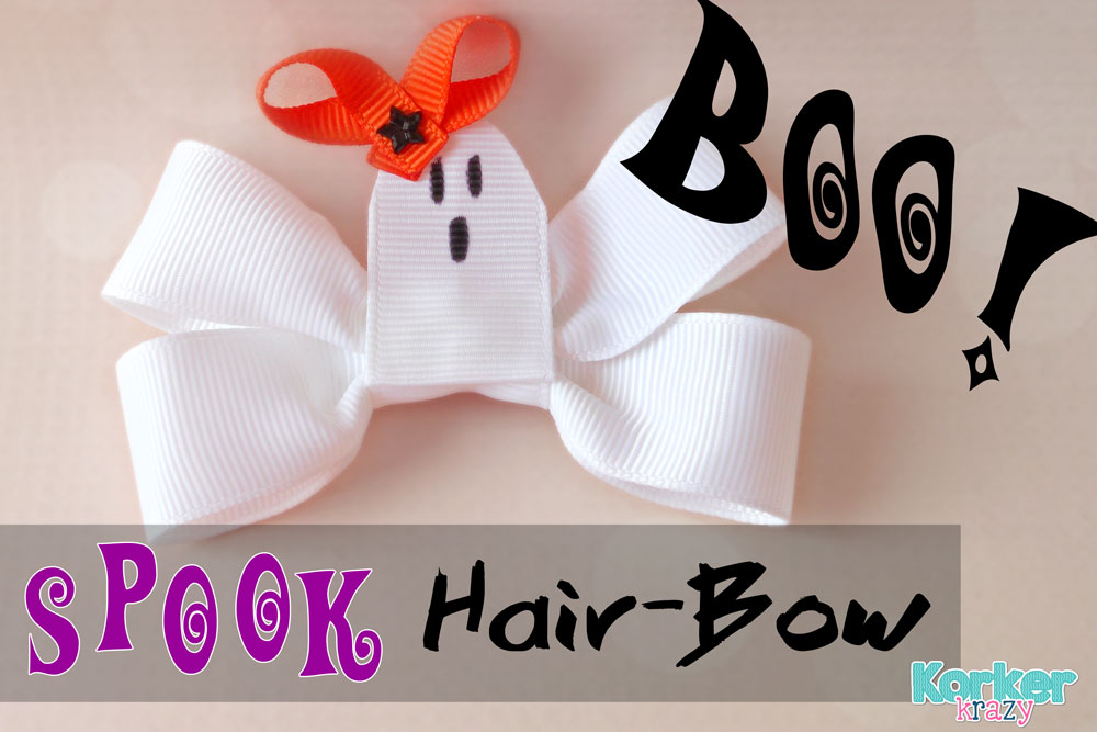 how to make a ghost hairbow