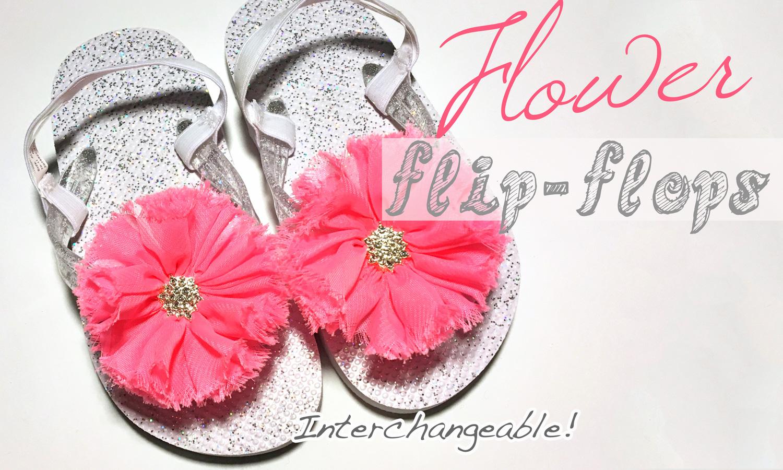 How to Make Flower Flip-Flops Instructions