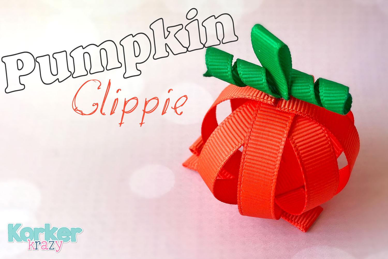 Fall Pumpkin Hair Clip Sculpture Tutorial