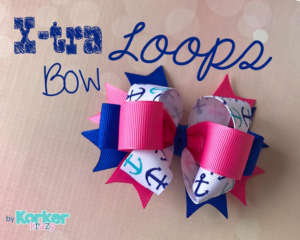 Extra Loops Hair-Bow
