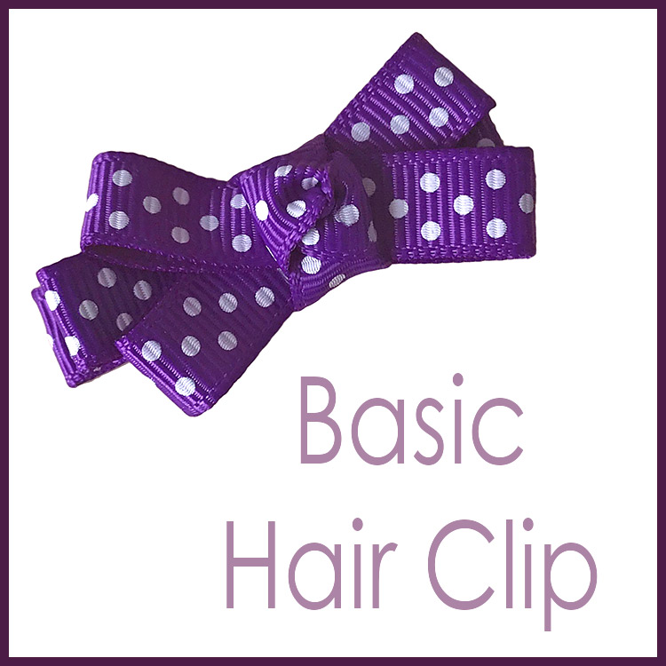 Easy Basic Knotted Hair bow Tutorial