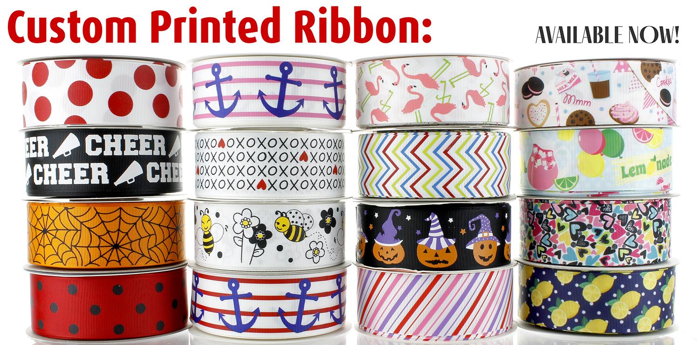 Grosgrain Custom Ribbon