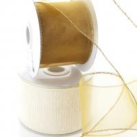 Solid Color Wired Ribbon