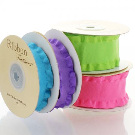 Double Ruffle Ribbon