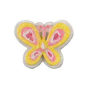 Yellow Butterfly Flatback Resin Embellishment