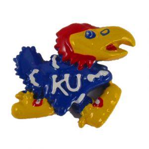 University of Kansas Jayhawk Flatback Resin Embellishment