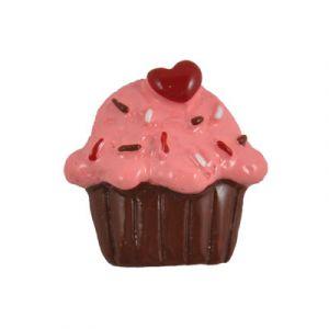 Chocolate Cupcake Flatback Resin Embellishment