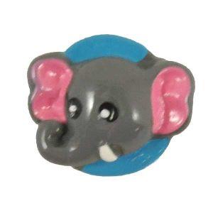 Elephant Flatback Resin Embellishment