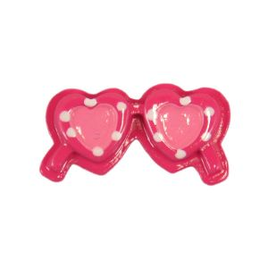 Hot Pink Sunglasses Flatback Resin Embellishment