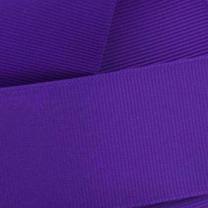 Regal Purple Grosgrain Ribbon HBC 470