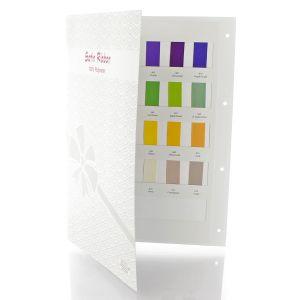Satin Ribbon Color Card