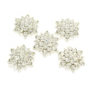 Small Starburst Rhinestone Embellishment Center
