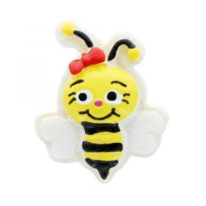 Bumblebee Flatback Resin Embellishment