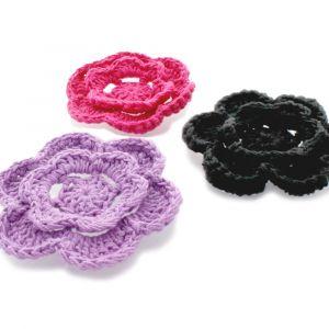 Cotton Crochet Flower