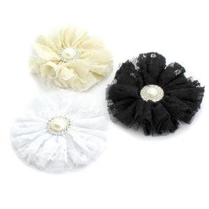 Lace/Tulle Ballerina Hair Flower