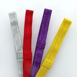 Sparkle Fold Over Elastic Headband
