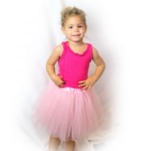 Little Girls Tutu 3-Layer Ballerina (4 mo. - 3T)