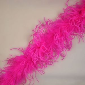 Curly Ostrich Marabou Feather Boa