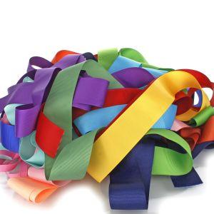 Solid Ribbon Grab Bag Narrow
