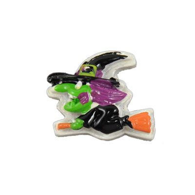 Halloween Scary Witch Flatback Resin Embellishment