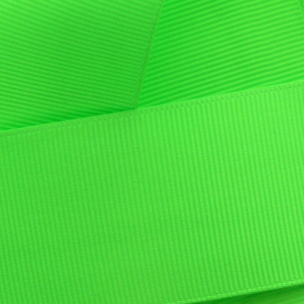 Acid Green Grosgrain Ribbon HBC 556
